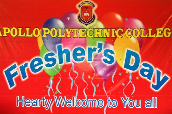 Fresher's Day, on 18 Jul 2016